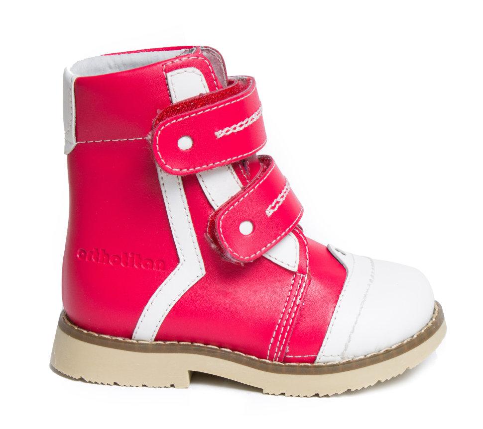 OT-403-R (детская ортопедическая обувь) Ботинки детские ортопедические  зимние (антивальгусные) с супинатором
